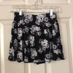 Tilly's kids XL floral skirt